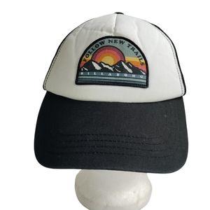 Billabong retro style trucker hat